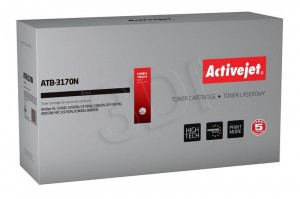 Toner ActiveJet ATB-3170N czarny do drukarki Brother - zamiennik TN3060, TN3170, TN6600