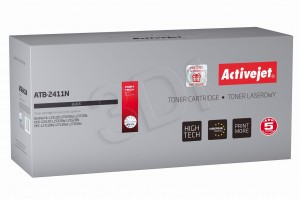 Toner ActiveJet ATB-2411N czarny do drukarki Brother - zamiennik TN2411
