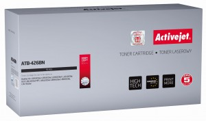 Toner ActiveJet ATB-426BN czarny do drukarki Brother - zamiennik TN426BK