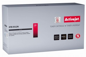 Toner ActiveJet ATB-3512N czarny do drukarki Brother - zamiennik TN3512