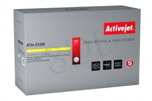 Toner ActiveJet ATH-252N Yellow do drukarki HP - zamiennik 504A CE252A