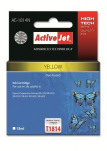 Tusz ActiveJet AE-1814N Yellow do drukarki Epson T1814