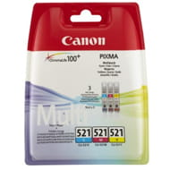 Tusz Canon CLI-521CMY MultiPack CLI521CMY