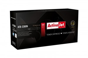 Toner ActiveJet ATB-3380N czarny do drukarki Brother - zamiennik TN3380