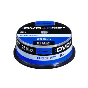 Intenso DVD+R 8,5GB 8x cake 25  Double Layer