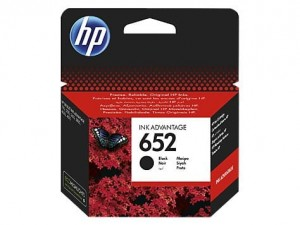 HP Inc. Tusz nr 652 Black F6V25AE